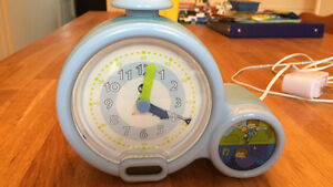 Sleep clock (similar to  Gro Clock)