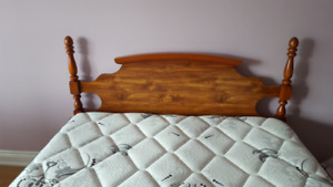 Bed, Mattress, Boxspring, Dresser and Night-table for sale