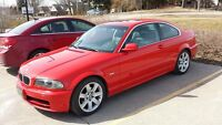 2000 BMW 323 Ci Coupe 5 speed