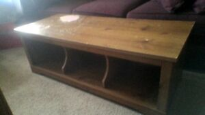TV Stand/ Coffee Table, lower shelves