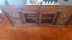 Bayside Solid Wood TV Stand
