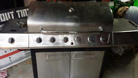 stainless steel BBQ, $40