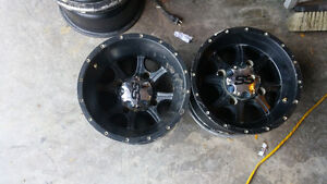 "4 SS 12 "" ATV Rims for sale"