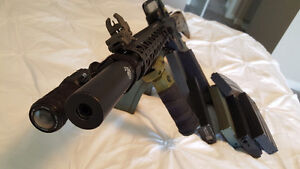 Airsoft costom electric bb m4