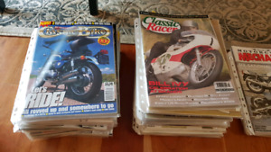 Huge load of motorcycle magazines