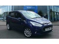 2017 Ford B-MAX 1.0 EcoBoost Titanium- Touch Screen, Cruise Control, Bluetooth,