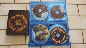 Lord of the Rings blu-ray trilogy boxset