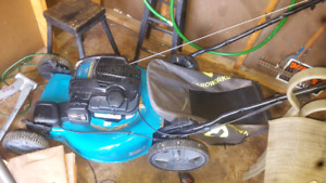 Yardworks 7hp lawnmower/go kart brand new
