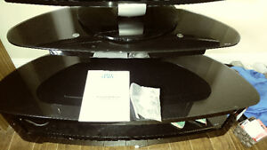 Perfect Condition Tempered Glass TV stand