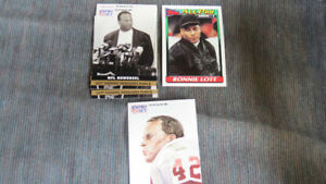 Ronnie Lott NFL cards(5)