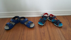 Boys sandals size 29 and size 11