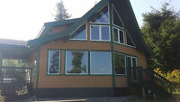 Private ocean front cabin for rent - Ucluelet Vancouver Island