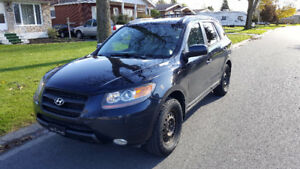 2008 Santa Fe GLS, very low mileage, very clean,ready for safety