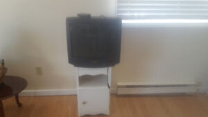 MINT 20 INCH SHARP TV WITH STAND