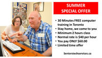 Computer Lessons for Seniors With a Personal Tutor