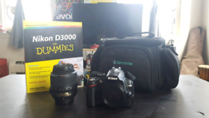 Nikon D3000 and Extras