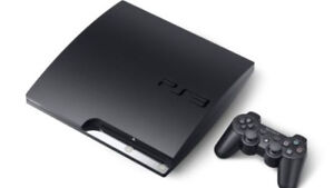 Sony PlayStation 3 Slim newest version with cables 1 contorller
