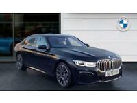 2020 BMW 7 Series 740d xDrive M Sport 4dr Auto Diesel Saloon Saloon Diesel Autom
