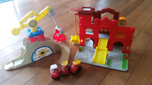 Chuck the Truck play sets