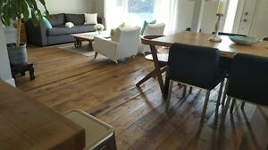 CUSTOM LONG LENGTH HARDWOOD FLOORING & V-JOINT PINE