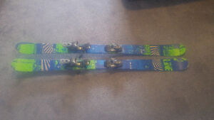 LINE Mastermind 147cm skis with Salomon Bindings