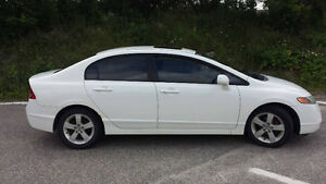 2007 Honda Civic Sedan -White