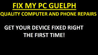 Fix My PC Guelph. Quality parts, reliable PC & phone repairs!