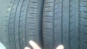 Two Dunlop allseason 225/55r18