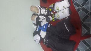 Kids (5-7) hockey equipment
