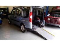 2011 Fiat Doblo Dynamic Wheelchair Disabled Accessible Vehicle