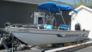 For Sale Starcaft boat motor and Tailer