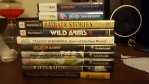 10 Video Games for Sale