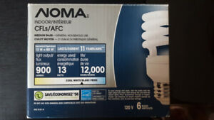 Noma cool white bulbs $5