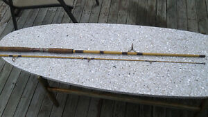 best offer---ALGONQUIN  8.5 ft ANTIQUE FISHING ROD