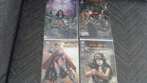 Grimm Fairy Tales -Hunters, Werewolves, Knights & Warriors comic