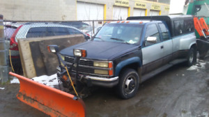 1991 chey gm4 for sale 2500 with plow. 6.2 diesel