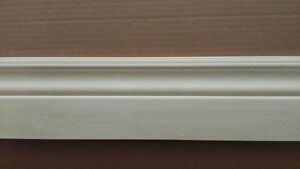 $2.00/ft. Baseboards 4 inch Painted