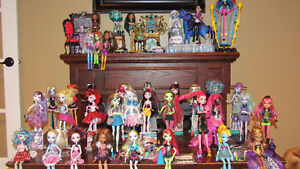 Monster High Collection, 38 dolls plus accessories St. John's Newfoundland image 1