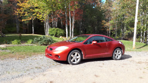 2008 Mitsubishi Eclipse 4 cyl 2.4 L coupe with 150k km