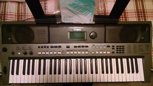 Yamaha PSR-E443 with adapter - brand new condition