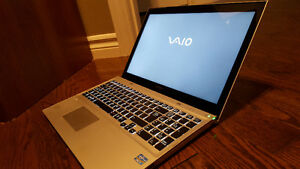 "Sony VAIO SVT151A11L 15.5"" i7 8GB 750GB 24GB SSD Touch Screen HD"