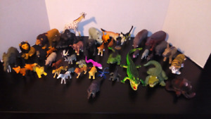 44 animaux (lot)