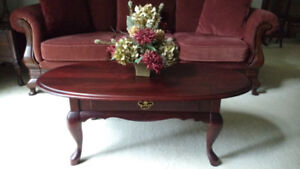 Solid Cherry Canadian Made Coffee Table