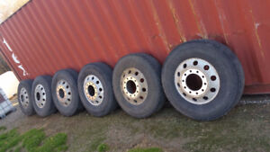 6 - 22.5 tires and rims - $150 each or $750 for all 6