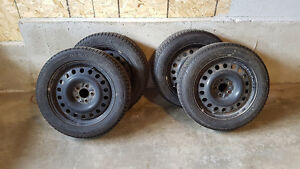 Michelin X-ICE tires and rims for sale