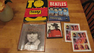 The Beatles and The Who (`Tommy`) Collectibles
