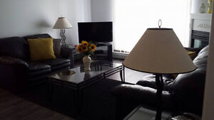 Fully Furnished All Incl. A/C Richard St Downtown Avail.Oct 1
