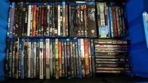 Blu ray movies (Lot of over 100)