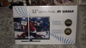"NEVER OPENED 32"" SYLVANIA TV"