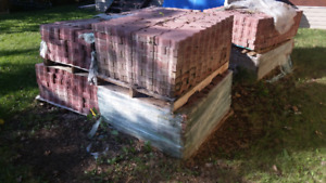 3800 Red Landscaping Paver Stone Bricks - Package Deal -$1900.00